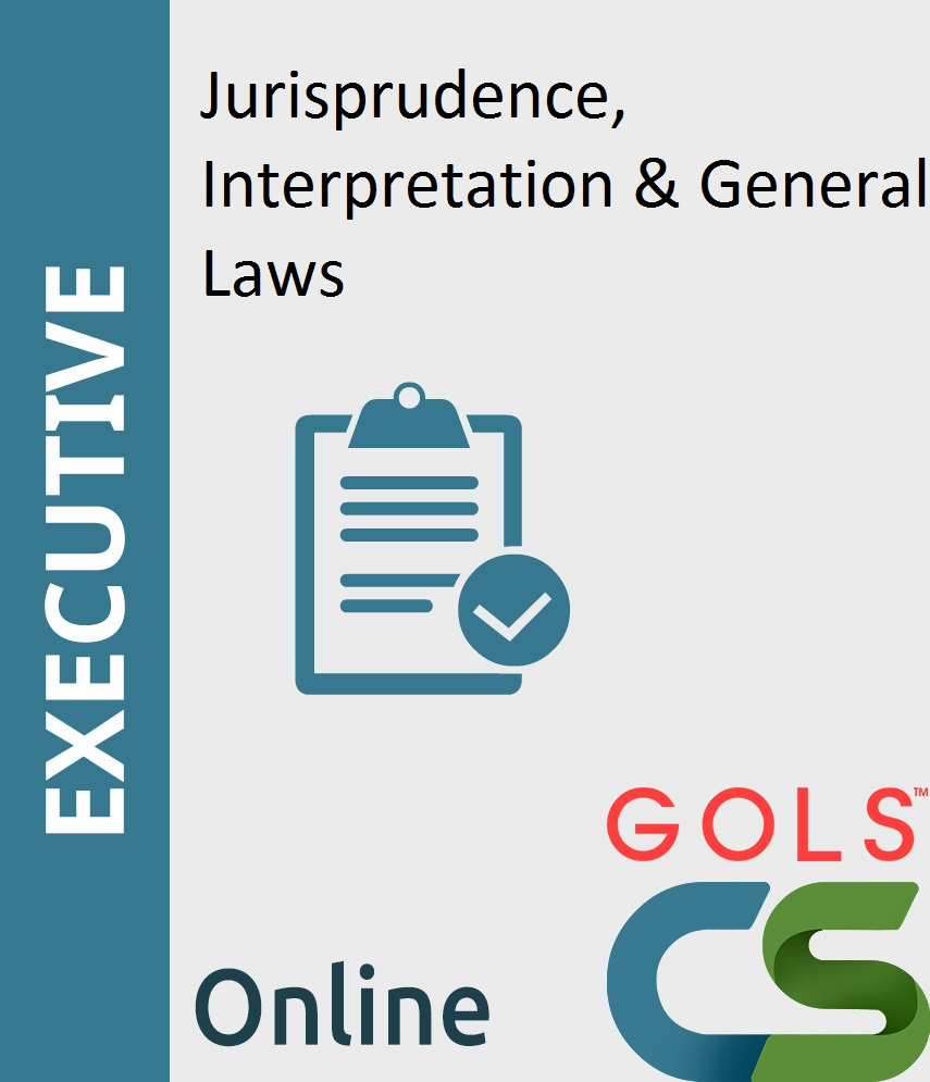 Paper 1: Jurisprudence, Interpretation & General Laws (JIGL)_New Syllabus