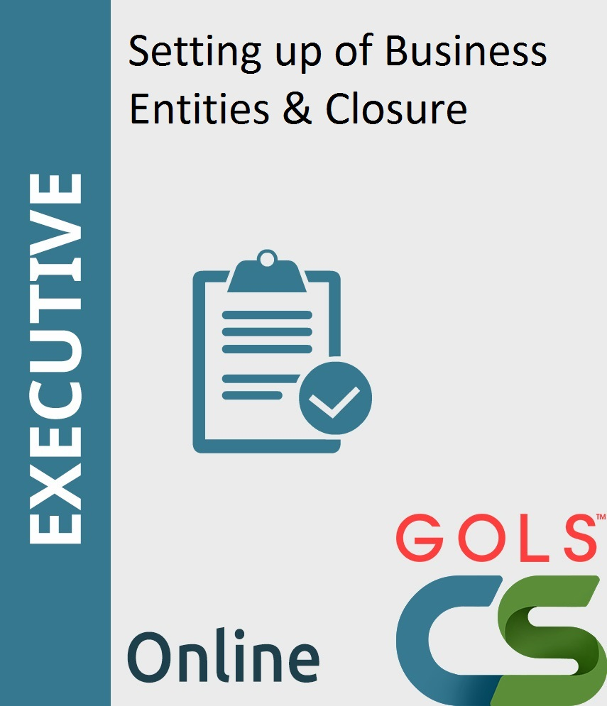 Paper 3: Setting up of Business Entities & Closure (SBC)_New Syllabus