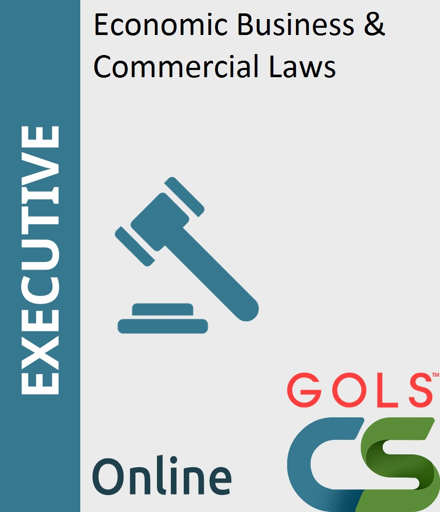 Paper 7: Economic, Business and Commercial Laws (EBCL)_New Syllabus