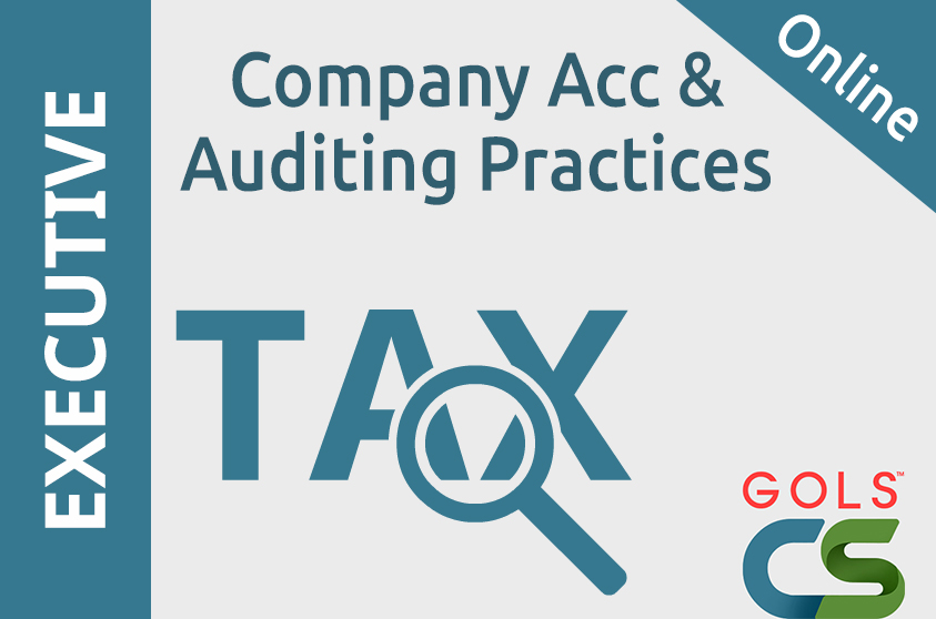 Paper 5 : Company Accounts and Auditing Practices (CAAP_Video)