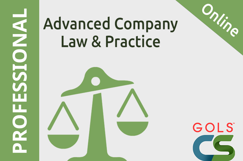 Advanced Company Law and Practice