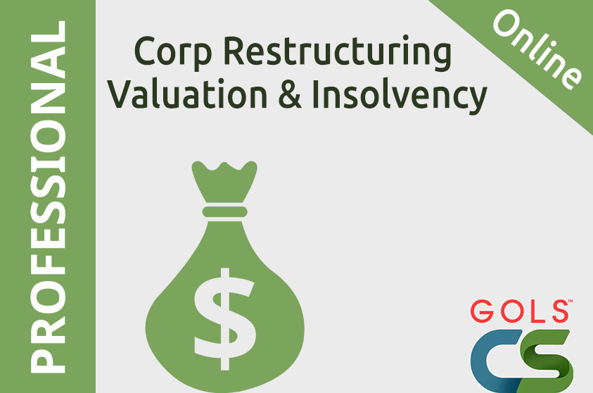Corporate Restructuring, Valuation and Insolvency