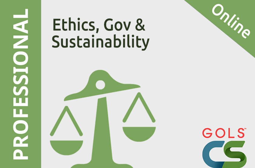 Ethics, Governance and Sustainability