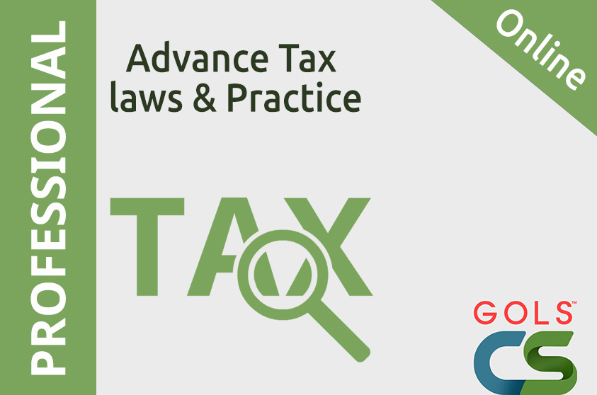 Advance Tax laws and Practice