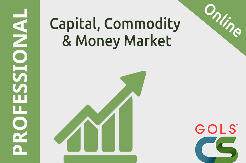 9.2. Capital, Commodity and Money Market