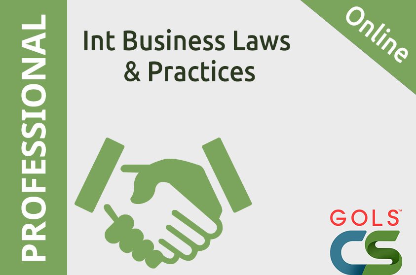 9.5. International Business-Laws and Practices