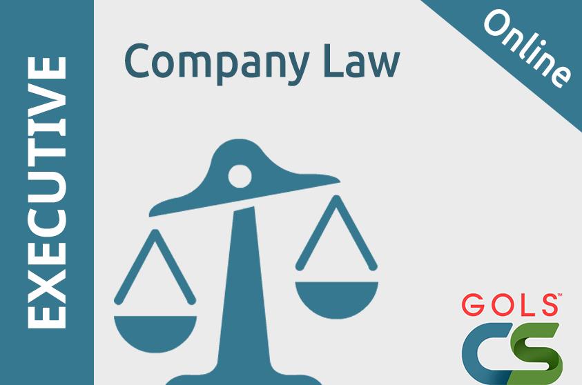 Paper 1 : Company Law