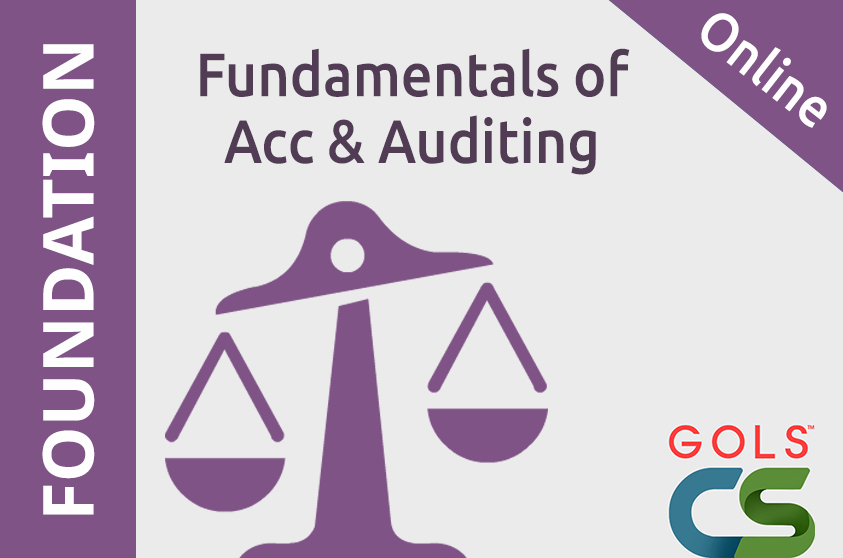 Paper 4 Fundamentals of Accounting And Auditing (FAA)