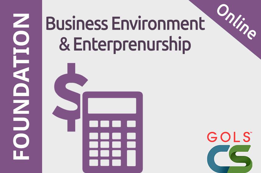 Business Environment and Enterprenurship