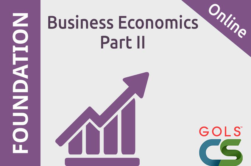 Business Economics Part II